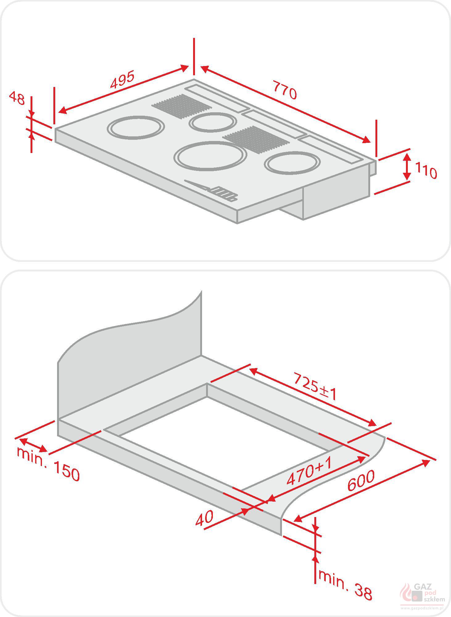 Genialny Płyta gazowa Solgaz GPC 4+2 | Solgaz SKLEP | XD93